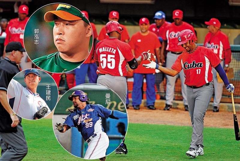 有「紅色閃電」美譽的古巴國家棒球隊,年底可望來台與味全龍隊進行熱身賽。(東方IC)