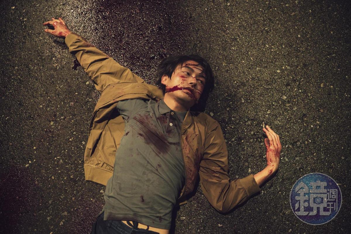 林鶴軒(大鶴)在《肇事者逃逸》裡慘逢鬼打牆車禍,被抓交替。