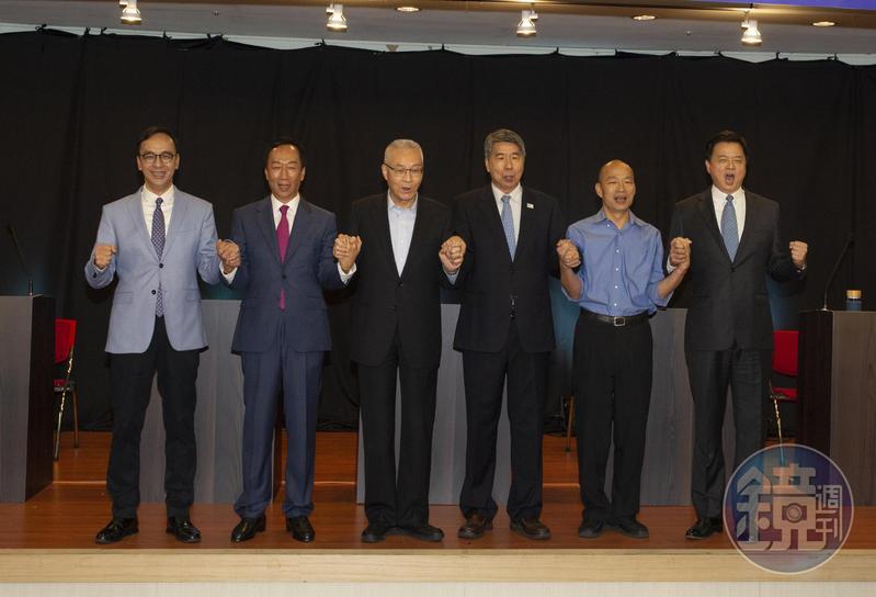 透過5家民調公司、7天的民調競逐,韓國瑜以44.8%出線,確定代表國民黨出戰2020總統大選。