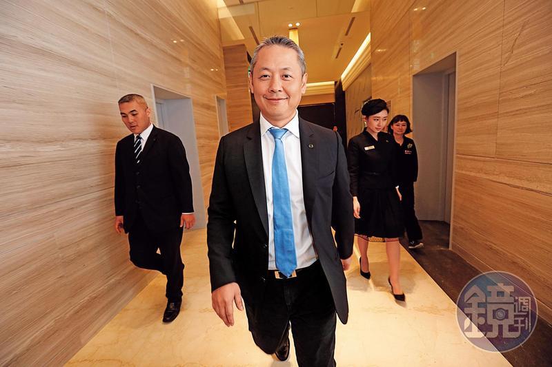 微風在廖鎮漢帶領下開出第10家店,近期也積極徵才備戰。
