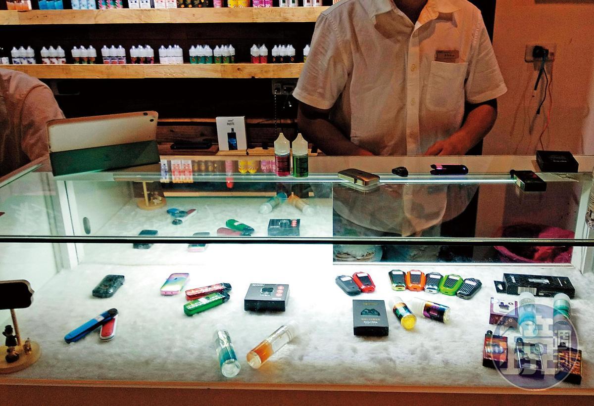 加熱菸與電子菸在台灣尚未合法進口,但在市面及網路上非常容易取得。