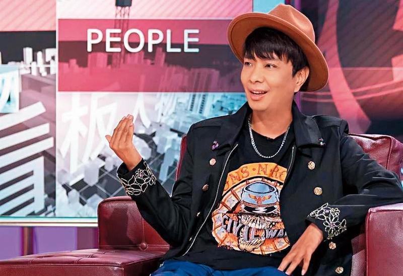 徐瑋去年上了不少綜藝節目,分享心路歷程並暢談未來的電影計畫。(TVBS提供)