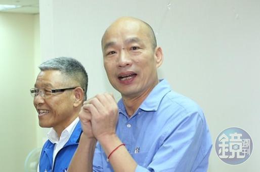 高雄市長韓國瑜將代表國民黨角逐2020總統大選。