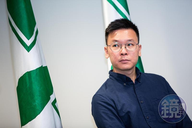 太陽花學運領袖林飛帆接任民進黨副祕書長,他坦承自己是因為韓國瑜,而決定加入民進黨。