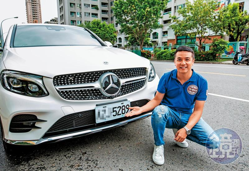 去年歐陽大買宜鼎狂賺千萬元,買了台賓士車做紀念,車牌號碼還選了宜鼎的股票代號。