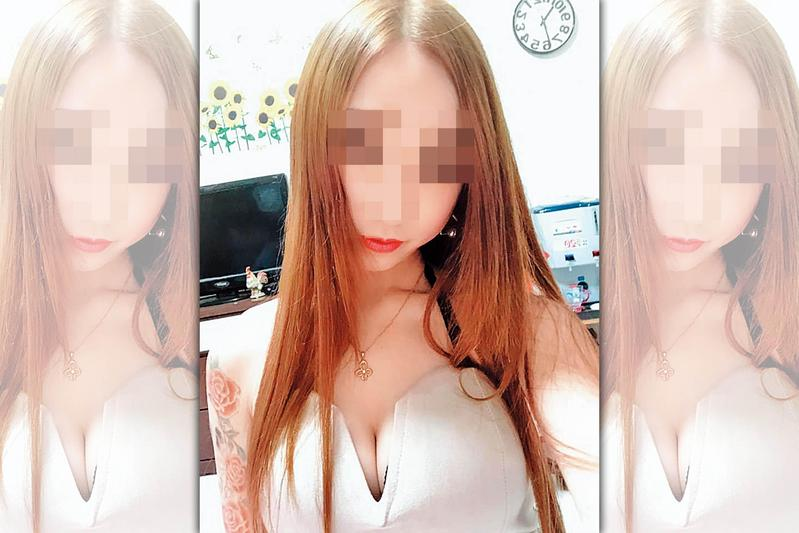 17歲的少女小珍平常穿著性感,打扮超齡。(翻攝臉書)
