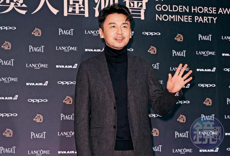 雷佳音30歲之後才開始走紅,他前年因《繡春刀2:修羅戰場》入圍金馬獎男配角,在入圍酒會上向台灣媒體揮手致意。