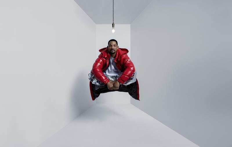 威爾·史密斯首度與時尚品牌合作拍攝廣告影像,第一次就獻給Moncler。(Moncler提供)