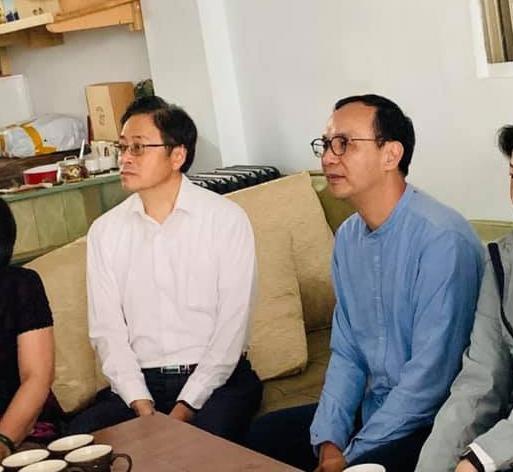 外界關注韓國瑜的副手搭檔,目前張善政(左)和朱立倫(右)都是熱門人選。(翻攝張善政臉書)