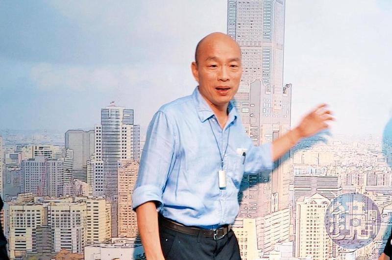 韓國瑜在專訪時宣示,要走出民進黨政府當前的兩岸論述,做到實質交流。