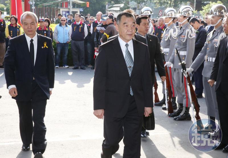 邱國正在軍中作風剛直,這也是他吸引國安高層的特點。(本刊資料照)