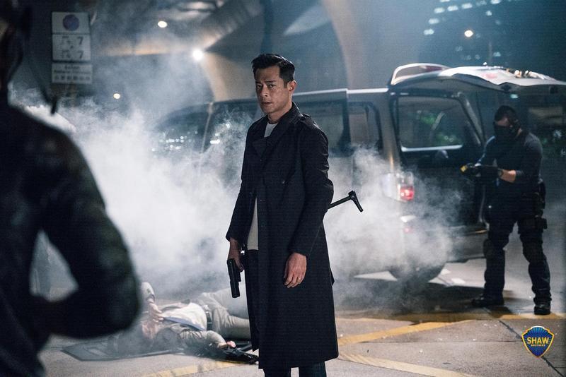 古天樂今年已經連續上映4部電影,且都是警匪動作片。(華映提供)