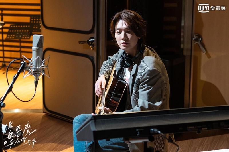韓男星鄭敬淏為主演新戲《當惡魔呼喊你名字》唱OST,還將推出原聲帶專輯。(愛奇藝台灣站提供)
