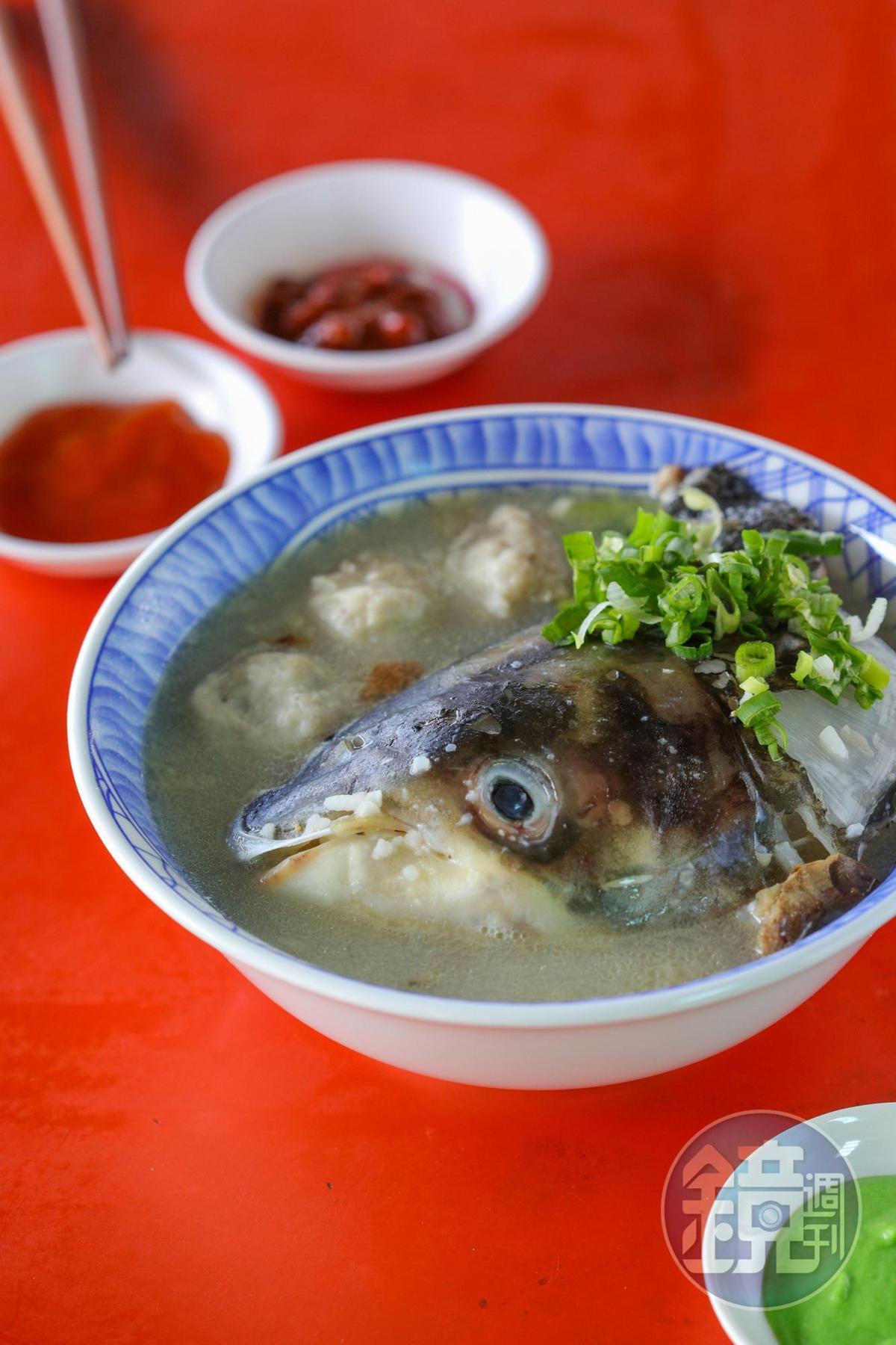 老饕懂得選吃魚頭部位。