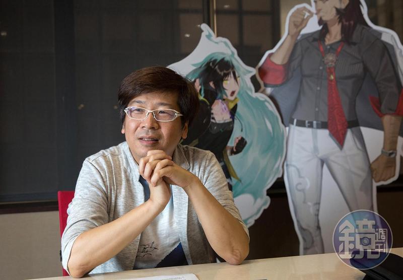 《Dusk Diver 酉閃町》製作人朱彥儒向《鏡週刊》分享他對台灣遊戲產業的觀察。