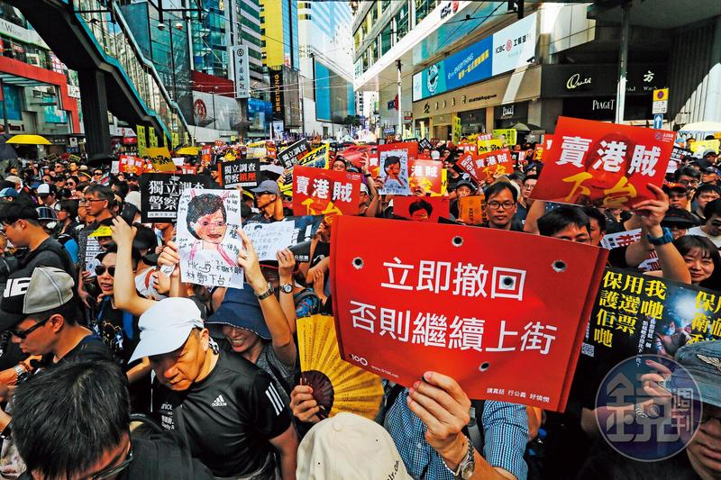 香港大型示威頻傳,未來半年到一年恐怕還是不安寧,台股有總統大選的神主牌護體,可吸收香港游資。