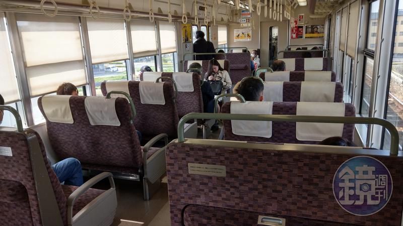 吳姓律師在日本被控涉電車痴漢案(火車上性騷擾),搭乘的是此款JR新快速及快速等級列車。