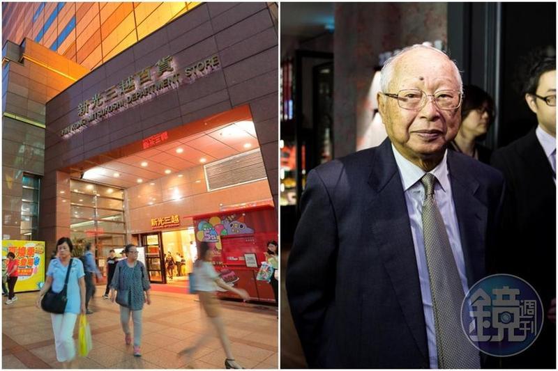 今年30歲的百貨龍頭新光三越7月初經歷驚滔駭浪,吳東興經營權差點不保。