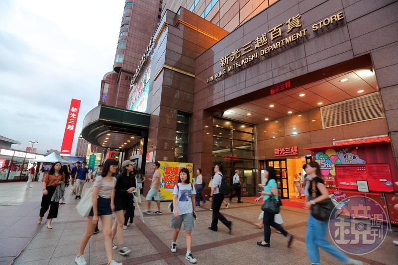 吳東興家族經營新光三越30年,讓新光三越一舉成為百貨龍頭,店數甚至超過日方規模。