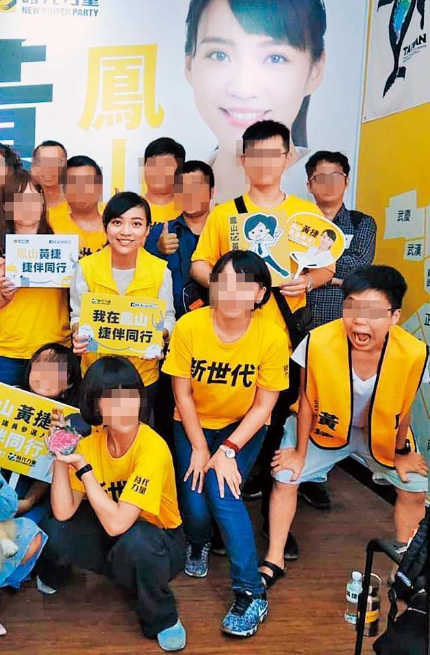 黄捷与团队合照时,杨蕓瑄通常都会做出搞怪表情。(翻摄黄捷脸书)
