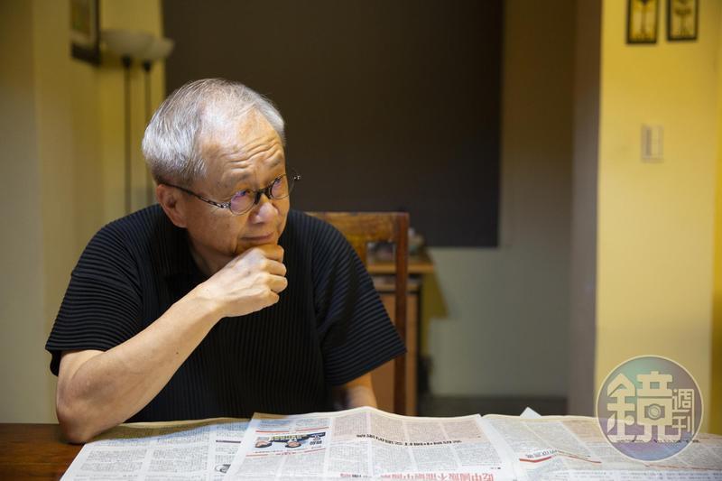 卜大中說,所有曾經待過並離開《中國時報》的人,內心都有愛恨糾葛。
