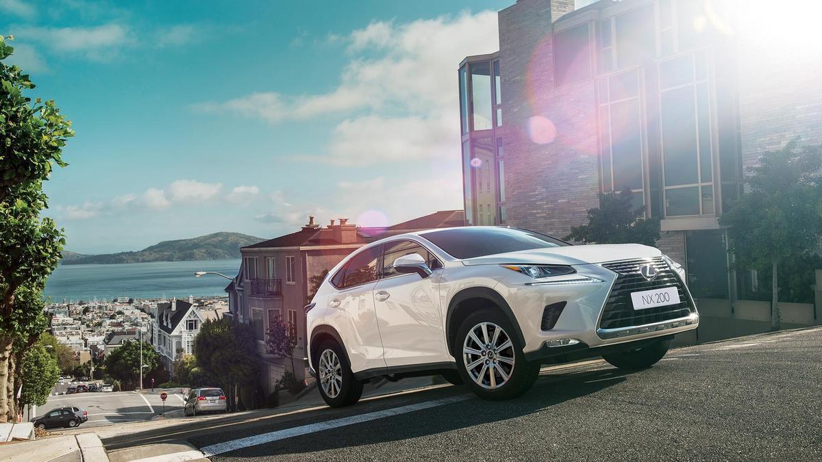 Lexus旗下NX車系銷售創新高,獨佔豪華休旅車鰲頭。