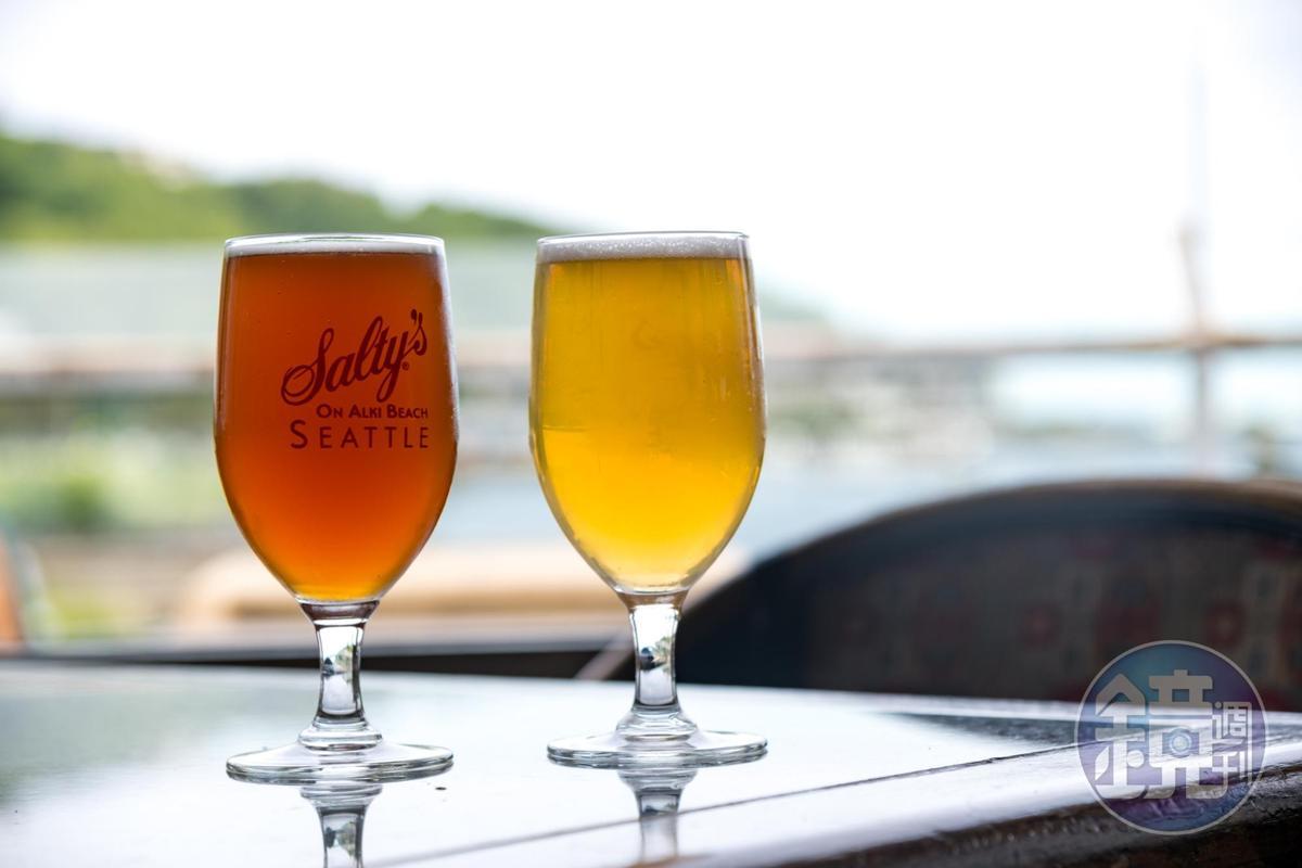西雅圖當地生產的精釀啤酒,風味獨特而有層次。