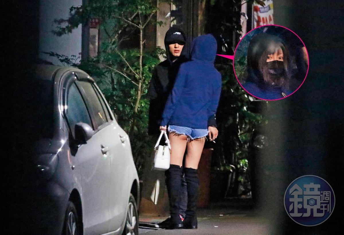 前年二月,本刊曾直擊嘎嘎帶著屁蛋妹和友人聚餐,玩到凌晨小倆口才手牽著手步行離開,一起回到嘎嘎位於台北市市民大道上的住處。