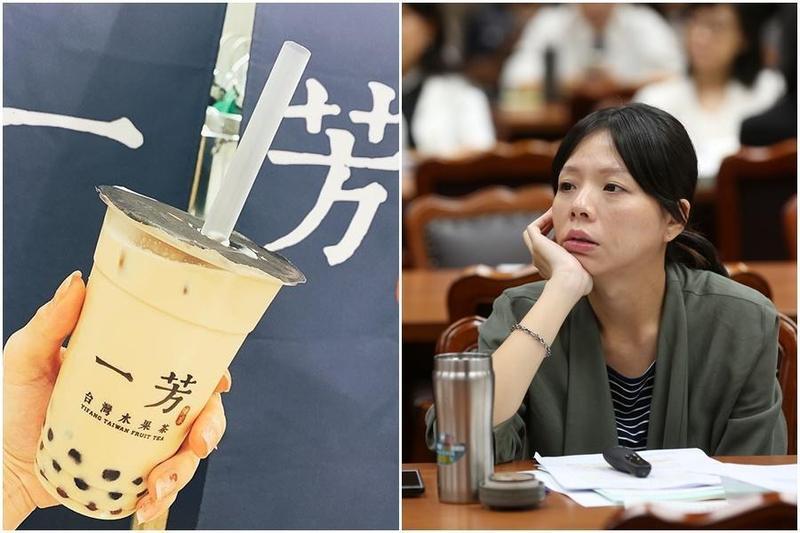 立委洪慈庸感嘆,從吳寶春到一芳水果茶,台灣品牌對中國「政治下跪」的例子,恐怕不會是最後一個。(左圖翻攝自一芳IG)