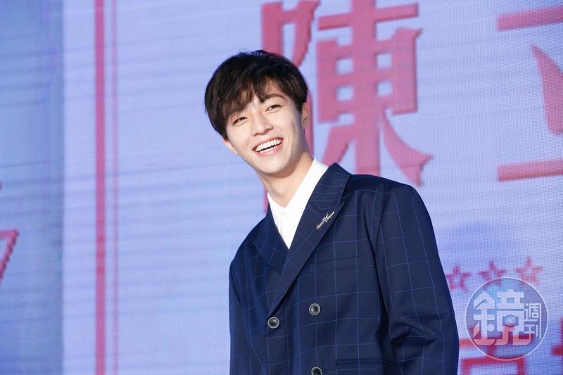 今年18歲的陳立農,參加中國選秀節目《偶像練習生》爆紅,更加入期間限定的9人團體NINE PERCENT。