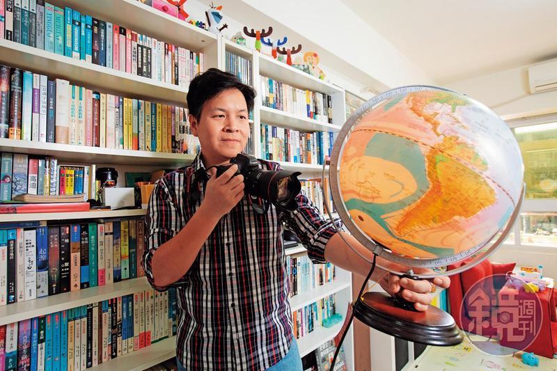 從小就是個歷史控,林志昊經常能從大國的權力互動中,嗅出投資機會。