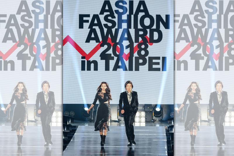 去年「ASIA FASHION AWARD」開場請來木村拓哉與林志玲一同走秀,讓人印象深刻。(三立提供)