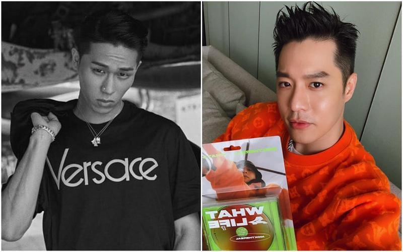 周湯豪新歌〈我的夢〉與韓國歌手Sik-K〈Water〉相似。(翻攝自自周湯豪臉/Sik-K臉書)