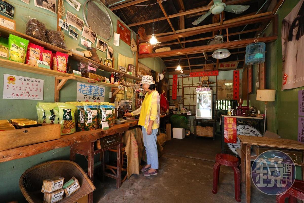 「新城照相館」內也販售一些花蓮小農產品。
