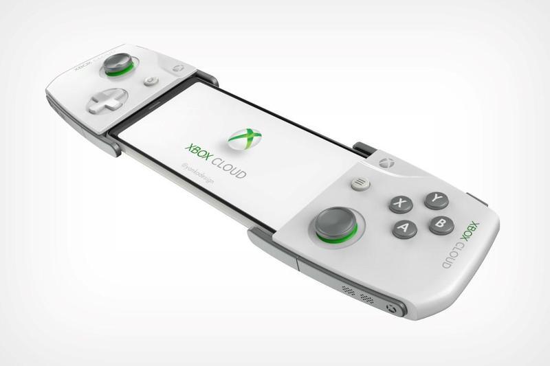 微軟上月提出遊戲控制器的新專利,有設計師依照專利資料繪製出模擬圖。(圖片來源:Yanko Design)
