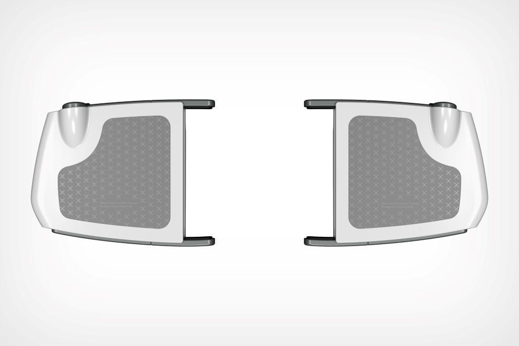 設計師依照微軟專利繪製的新控制器模擬圖。(圖片來源:Yanko Design)