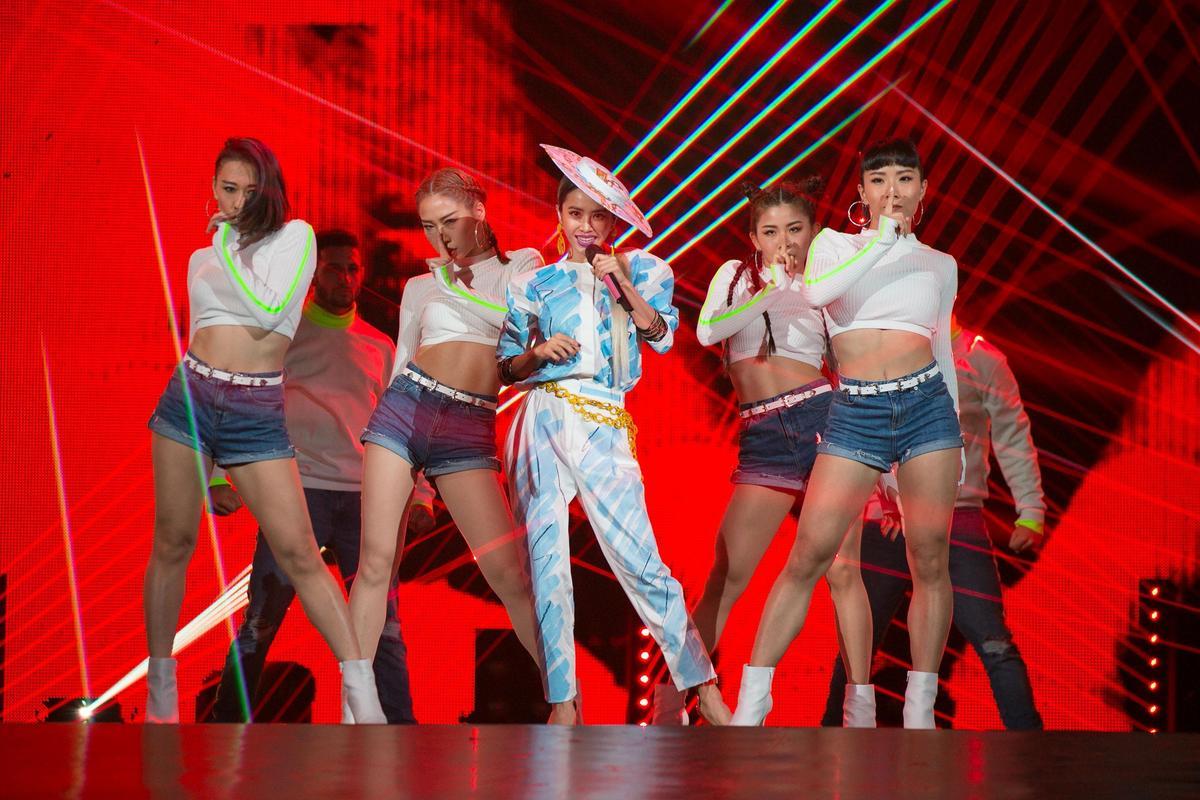 KKBOX風雲榜頒獎典禮14年來已成為台灣最具指標性的商業音樂盛典,獲SUPER JUNIOR、蔡依林等大牌力挺出席。(KKBOX提供)