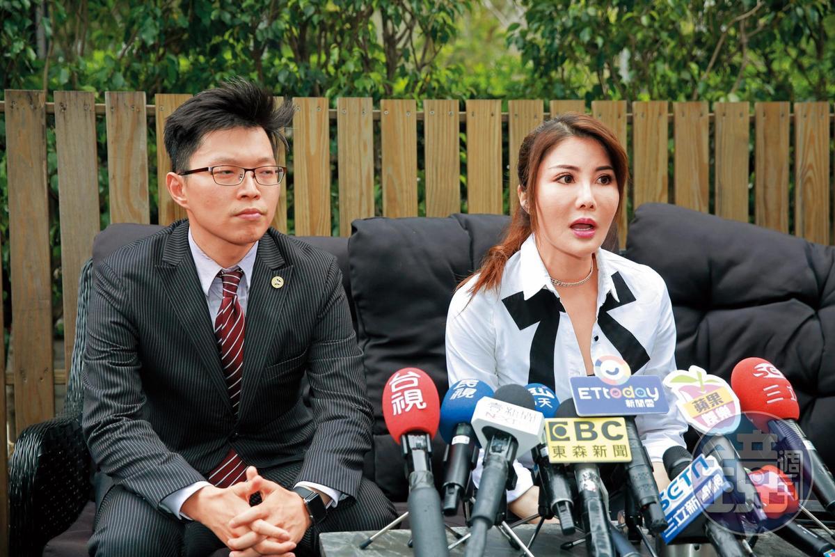 楊麗菁告龔偉綸妨害名譽及恐嚇等罪,今年1月,雙方和解收場。