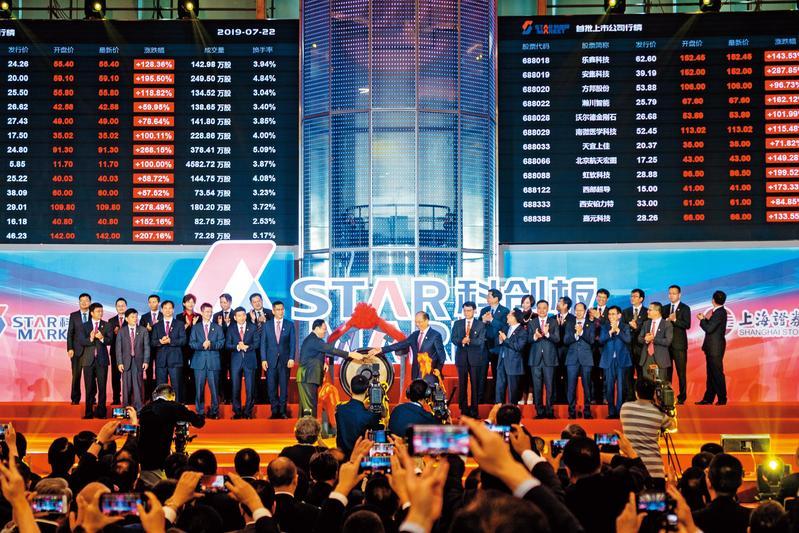 今年中國改革政策不少,包括科創板推出、減稅降費人民幣2兆元、資本市場國際化等。(東方IC)