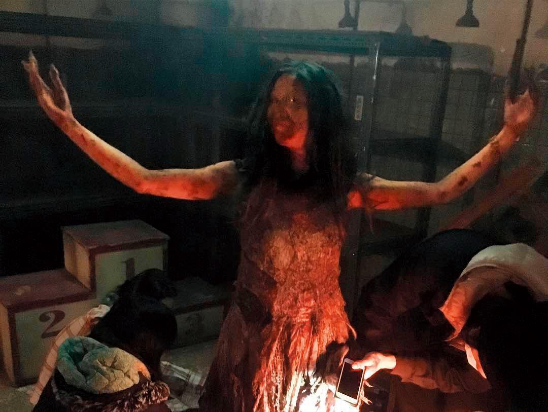 劉奕兒曾在九把刀執導的《報告老師!怪怪怪怪物!》中扮演可怕的怪物,比鬼魂還可怕。