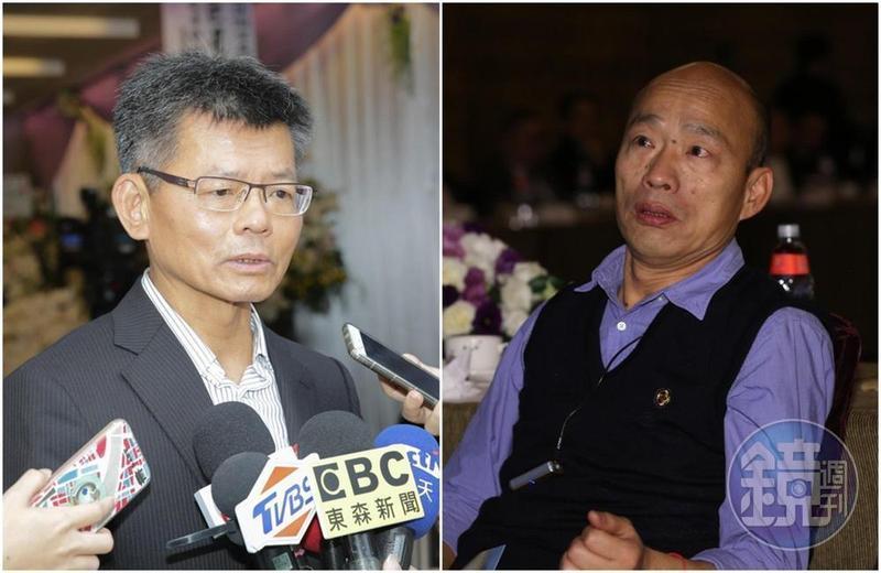 原本力挺韓國瑜的楊秋興,在選後兩人關係生變。
