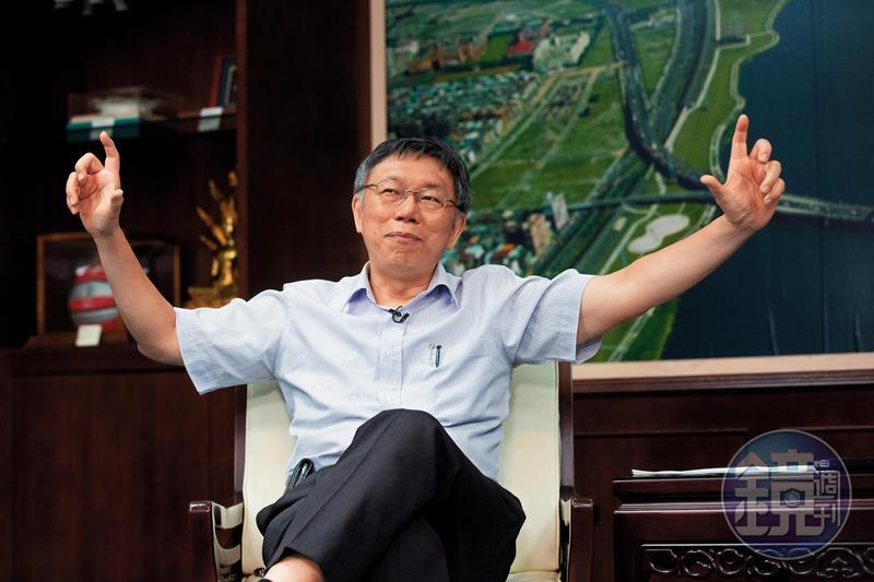 狂人狂語的柯文哲,說話容易得罪人,斂鋒收芒從來不是他的風格。受訪時,他幾度用第三人稱的角度,誇耀自己創造了接二連三的奇蹟,還說自己將替台灣政壇帶來破壞性的創新。