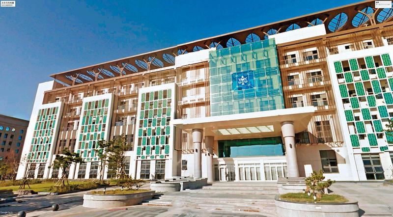 新竹地方法院調查吳振富庭長公器私用案後,決定對他從嚴議處。(翻攝Google Maps)