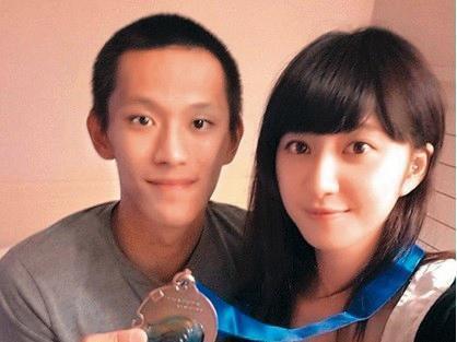 謝翔雅(右)跟八三夭合拍的MV出爐不久,她就跟交往多年的男友、富邦球星蕭順議(左)情變。(翻攝自謝翔雅IG)