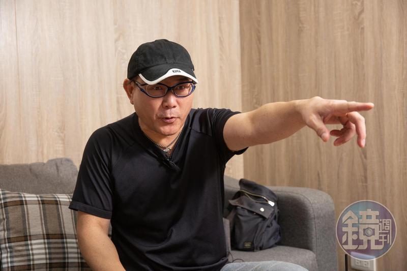說起因搬遷損失2千多萬元,林東芳火氣上來直接開砲,罵得沒完沒了。