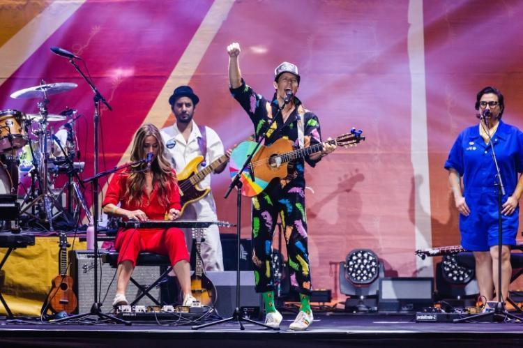 今年傑森瑪耶茲來台開唱與KKBOX Prime異業合作,成功將會員導入。(KKBOX提供)