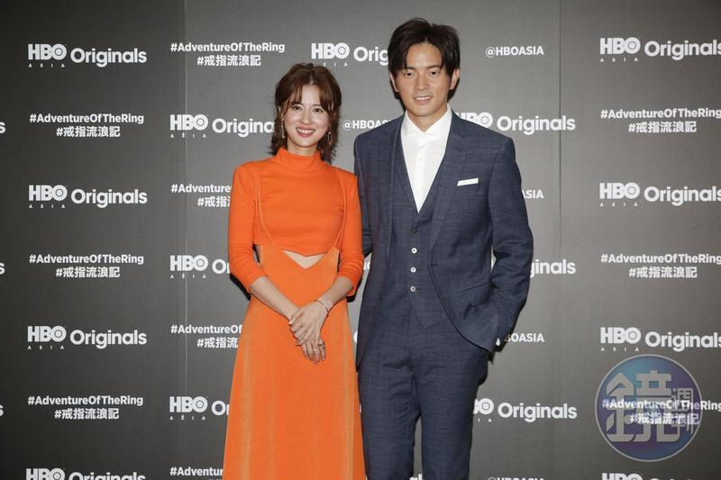 宥勝與林予晞首度搭檔主演HBO Asia原創喜劇《戒指流浪記》。