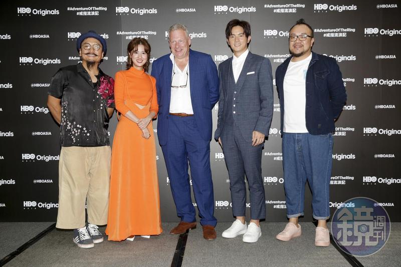 《戒指流浪記》改編自鏡文學出版《Ring of the Day:台北捷運 ╳ 戀愛小說》其中一個篇章,更吸引到國際平台HBO Asia出資合作。