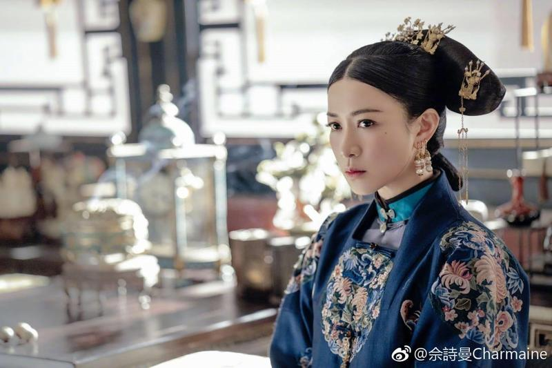 香港女星佘詩曼去年在宮鬥劇《延禧攻略》飾演工於心計的嫻妃,在中國知名度暴漲。(翻攝自微博)