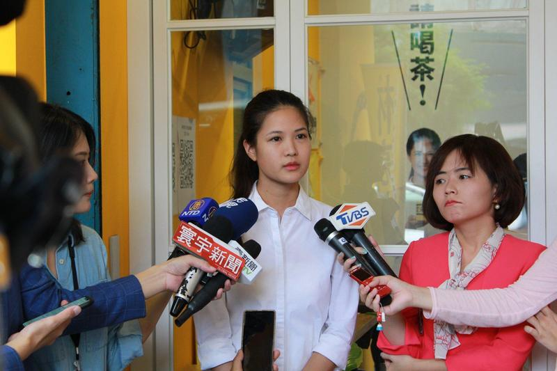 時代力量決策委員、台北市議員林亮君今宣布投入黨主席補選。(翻攝林亮君臉書)